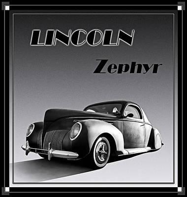Zephyr Poster by Douglas Pittman