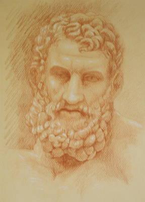 Zeus Poster by Deborah Dendler