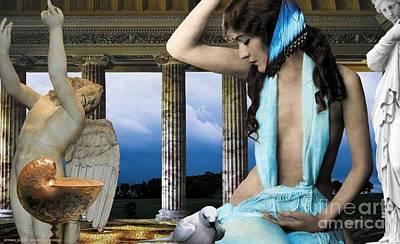 Ziegfeld Muse Series No.6 Poster by E Jethro Gaede
