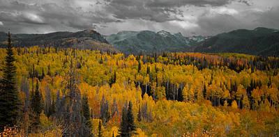 Zirkel Mountain Range Poster