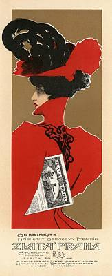 Zlata Praha Poster by Gianfranco Weiss