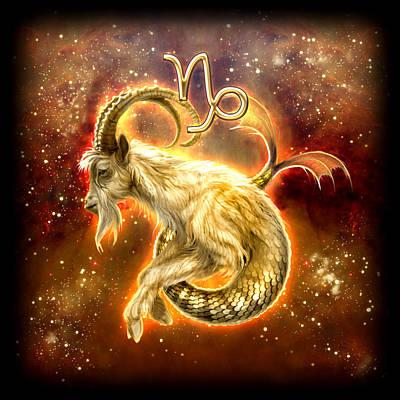 Zodiac Capricorn Poster by Ciro Marchetti
