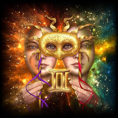 Zodiac Gemini Poster by Ciro Marchetti