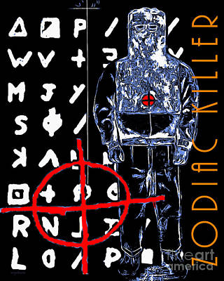 Zodiac Killer 20140912poster Poster by Wingsdomain Art and Photography