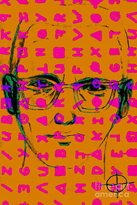 Zodiac Killer With Code And Sign 20130213m80 Poster by Wingsdomain Art and Photography
