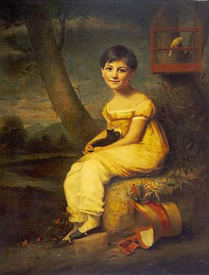 Zoe De Bellecourt, C.1825 Poster