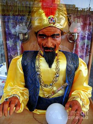 Poster featuring the photograph Zoltar by Ed Weidman