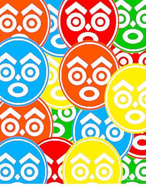 Zulu Nation Multi-color Logo Head Poster