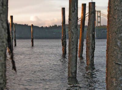 Poster featuring the photograph  A Titlow Sunset by Chris Anderson