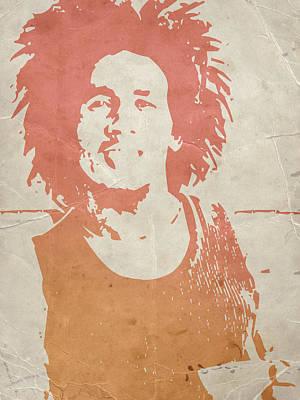 Bob Marley Brown Poster