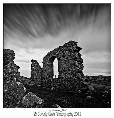 Llanddwyn Island Ruins Poster by Beverly Cash