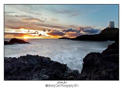 Llanddwyn Island Sunset Poster