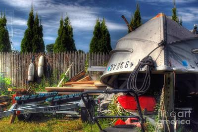 The Boatyard Poster by Joann Vitali