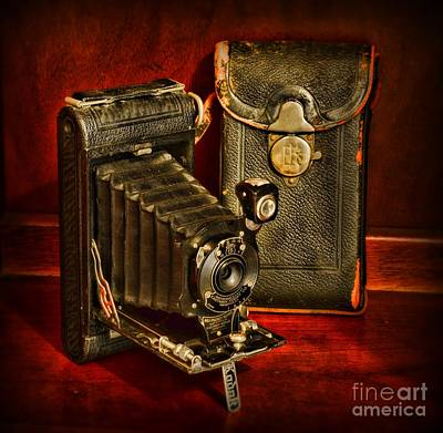 Vintage Pocket Kodak Camera Poster by Paul Ward
