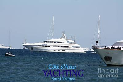 Yachting Poster by Rogerio Mariani