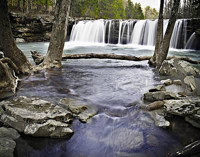 0804-3327 Falling Water Falls 1 Poster
