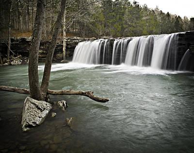 0805-0070 Falling Water Falls 3 Poster