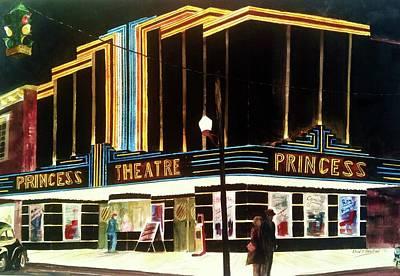 1947 Saturday Night At The Princess Poster