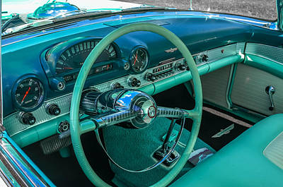 1955 Ford Thunderbird Poster
