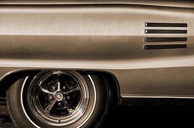 1966 Dodge Coronet 500 Poster by Gordon Dean II