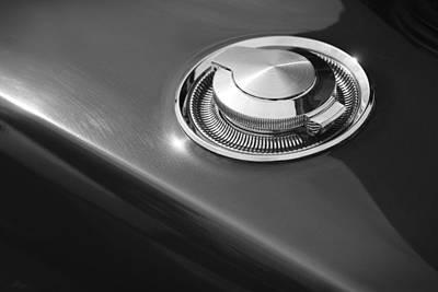 Poster featuring the photograph 1968 Dodge Charger Fuel Cap by Gordon Dean II