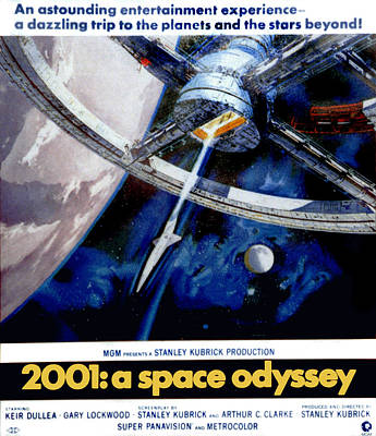 2001 A Space Odyssey, 1968 Poster