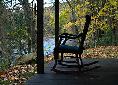 Poster featuring the photograph A Perfect Seat by Cheryl Perin