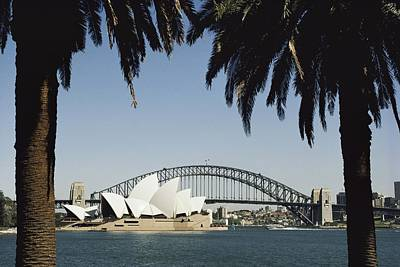 A View Of The Sydney Opera House Poster by Bill Ellzey