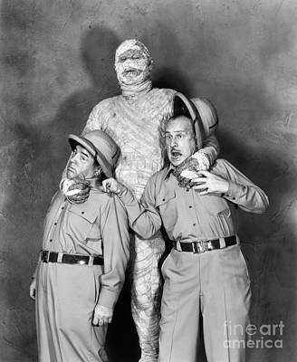 Abbott And Costello Poster by Granger