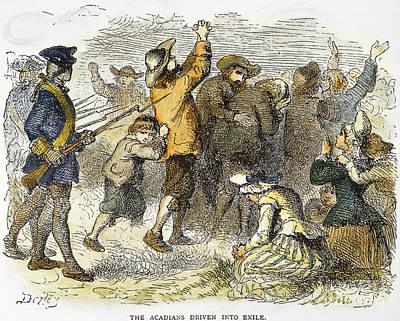 Acadian Expulsion, 1775 Poster