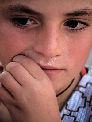 Afghan Child Poster