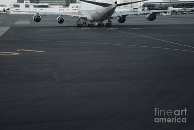 Airport Tarmac Poster by Shannon Fagan