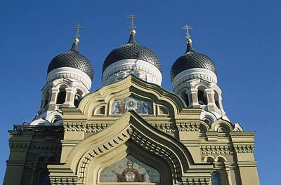 Alexander Nevsky Cathedral Poster by Axiom Photographic
