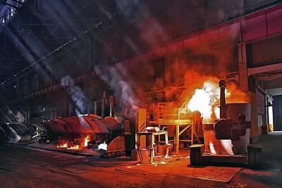 Aluminium Production Poster