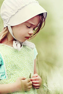 Amish Child Poster