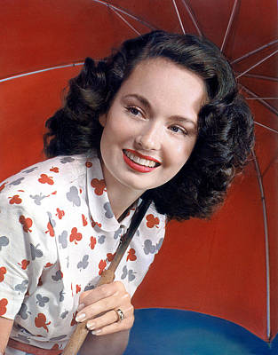 Ann Blyth, 1940s Poster
