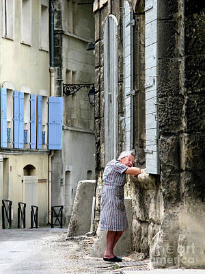 Poster featuring the photograph Another Nap.arles.france by Jennie Breeze