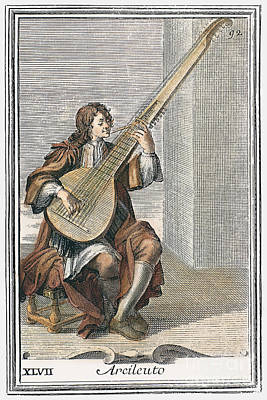 Archlute, 1723 Poster by Granger