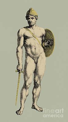Ares, Greek God Of War Poster
