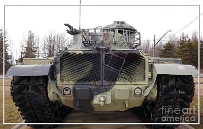 Armored Tank Poster