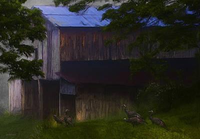 Around The Barn Poster