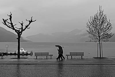Ascona With Rain Poster by Joana Kruse