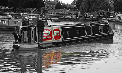 Avon Riverboat Poster by Gordon Engebretson