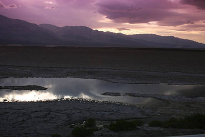 Badwater Basin Death Valley National Park Poster