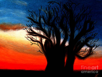Baobab Tree Poster by Ayasha Loya