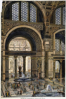 Baths Of Caracalla, Rome Poster