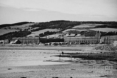 beach and shoreline between ardersier and fort george highland Scotland Poster