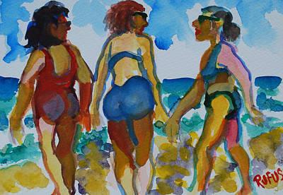 Beach Trio Poster