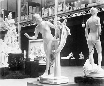 Beaux Arts Sculpture Exhibited Poster