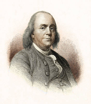 Benjamin Franklin Poster by Nypl